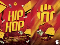 Hip-Hop Party 2 Flyer Template