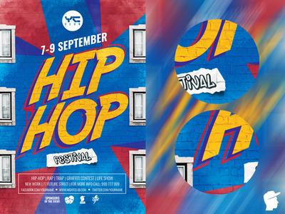 Hip Hop Festival Flyer Template