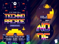 Techno Arcade Flyer Template