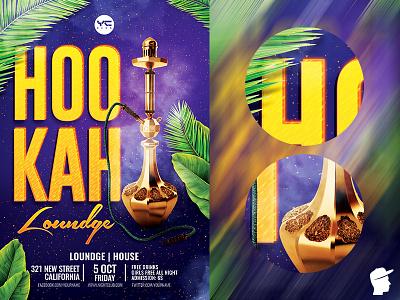 Hookah Loundge Flyer Template smoke shisha poster shisha purple psd poster palm loundge party loundge house hookah party hookah loundge hookah bar hookah flyer daminda club cigars bar arab