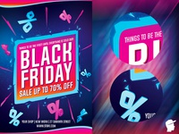 Black Friday 2018 Flyer Template