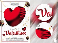 Happy Valentines 2019 Flyer Template
