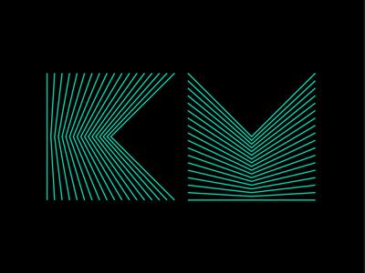 KM monogram