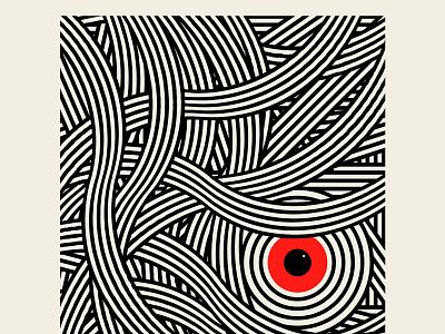 The 405 traffic losangeles vector branding design logo red black geometric illustration