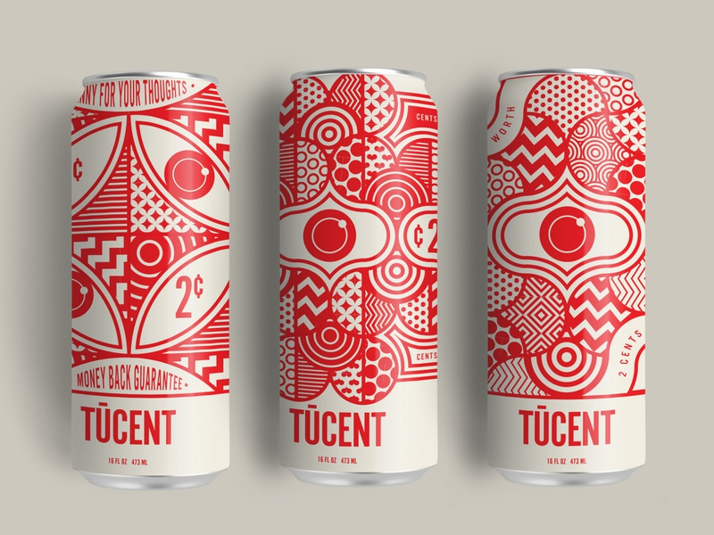 Yeah We Can trufcreative santa monica patterns identity geometric red design branding illustration packagingdesign can design packaging design