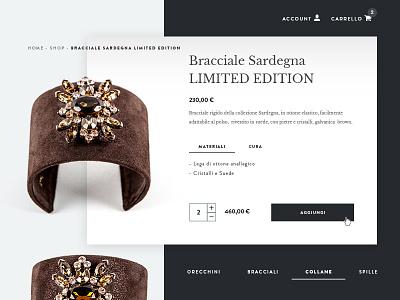 PS Jewels wordpress website adobe web design web development ux design ui design