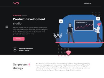 Homepage for Development Studio 2020 ®