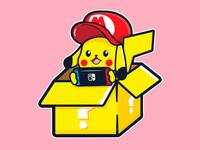 Switch pikachu