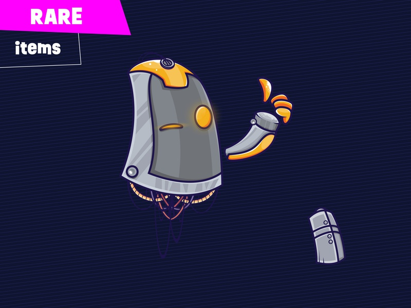 PROhero well done cables apparatus machine rare items happy face technical machinery futuristic technology future character design character illustration cartoon game design game art game erdir oh prohero