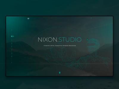 Creating a portfolio site for Nixon Studio
