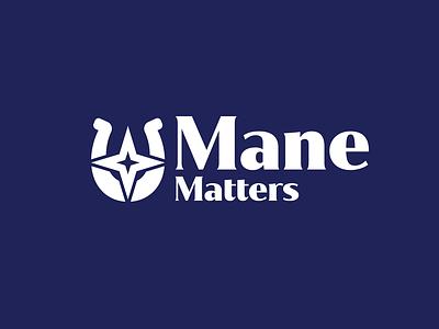 Mane Matters Logo vector logo design logo brand identity