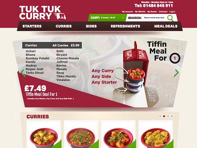 Ecommerce Takeaway Website ecommerce website website branding logo packaging
