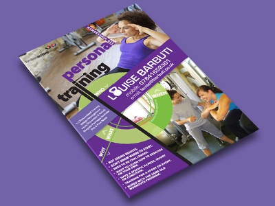 Personal Training Poster poster