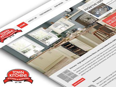 Town Kitchens Website kitchen website responsive