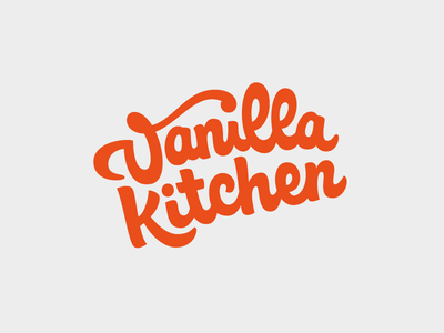 Vanilla Kitchen – Food Blog Logo