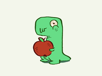 Emo Dinos – Sticker set
