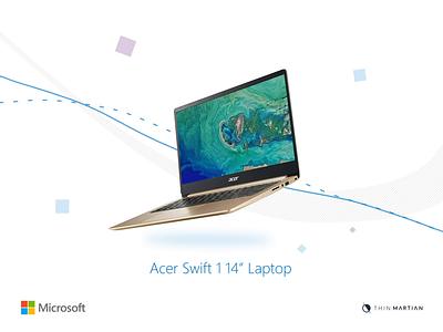 Microsoft - Amazon Hub air line light laptop web website design microsoft animation