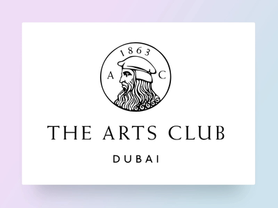 The Arts Club Dubai - Logo animation dubai design 3d animation thin martian branding the arts club after effects logo animation brand identity