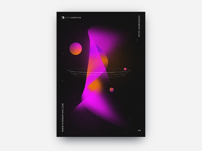 Space and Technology Visual Exploration 4 planets air visual design visual art thin martian technology space science print poster glow fluorescent dust dissolve design abstract design deep space deep abstraction abstract