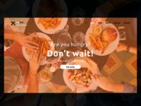 Restaurant Website idea