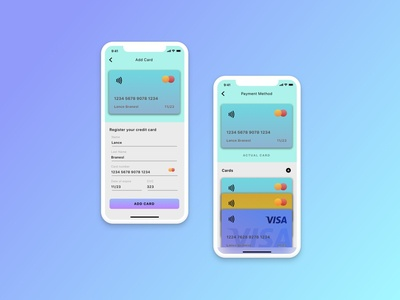 Credit card - Daily UI 002