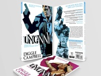 Book & Logo Design: Uncanny Graphic Novel