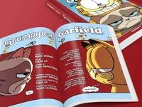 Book Design: Grumpy Cat/Garfield Graphic Novel
