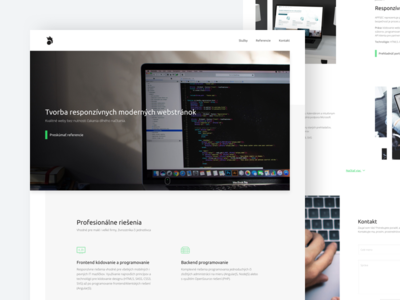 Portfolio for Web Developer