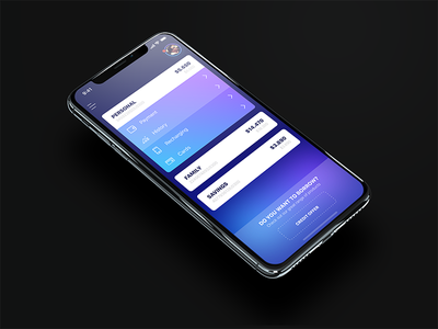 eBanking application cryptocurrency data iphone x financial money card app payments ux ui mobile bank