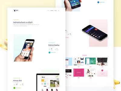 Portfolio [Sneak Peek] 🍌 webdesign clean typography brand logo agency layout landing design ux ui portfolio