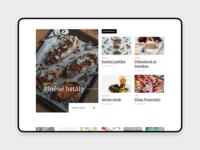 [WIP] Food Blog
