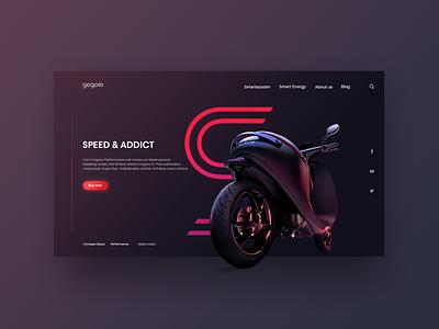 ui design motor motorsport motorcycle motorbike forms form app hellodribbble debut application web ux design ui