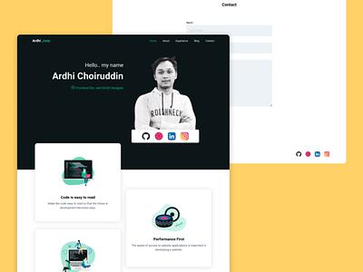 Ardhicorp Personal Website