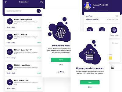 Mobile apps Lemans news oraganization ui mobile app design illustration mobile ui