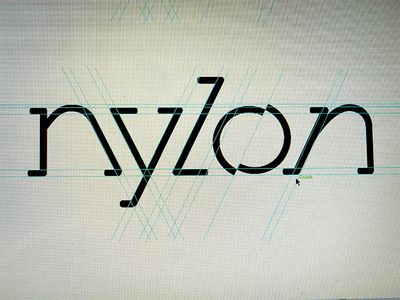 Nylon - lettering project