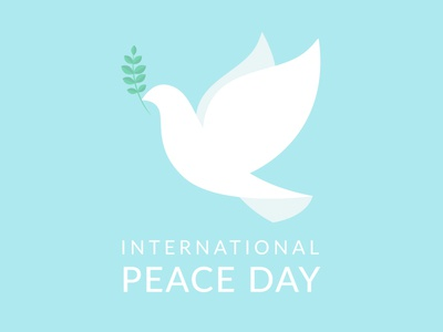 Happy International Peace Day! peaceful white dove dove illustration international peace day internationalpeaceday peace