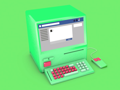 PC motiongraphics motiondesign mograph mac2 socialmedia design neon retro cinema4d animation 3d