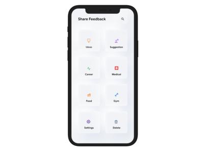 Skeuomorphism - Concept Dashboard App UI