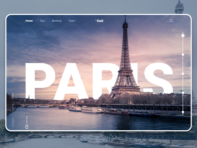 Paris tour adobe xd website design illustration web app ui uiux graphic design graphic design uiuxdesign