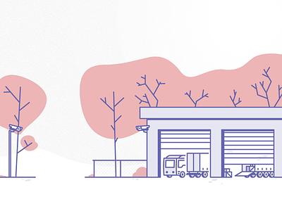Keep on truckin' ui  ux design design user experience monkeyshot illustration