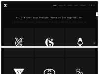 Logo Portfolio   Minimal Wordpress Website