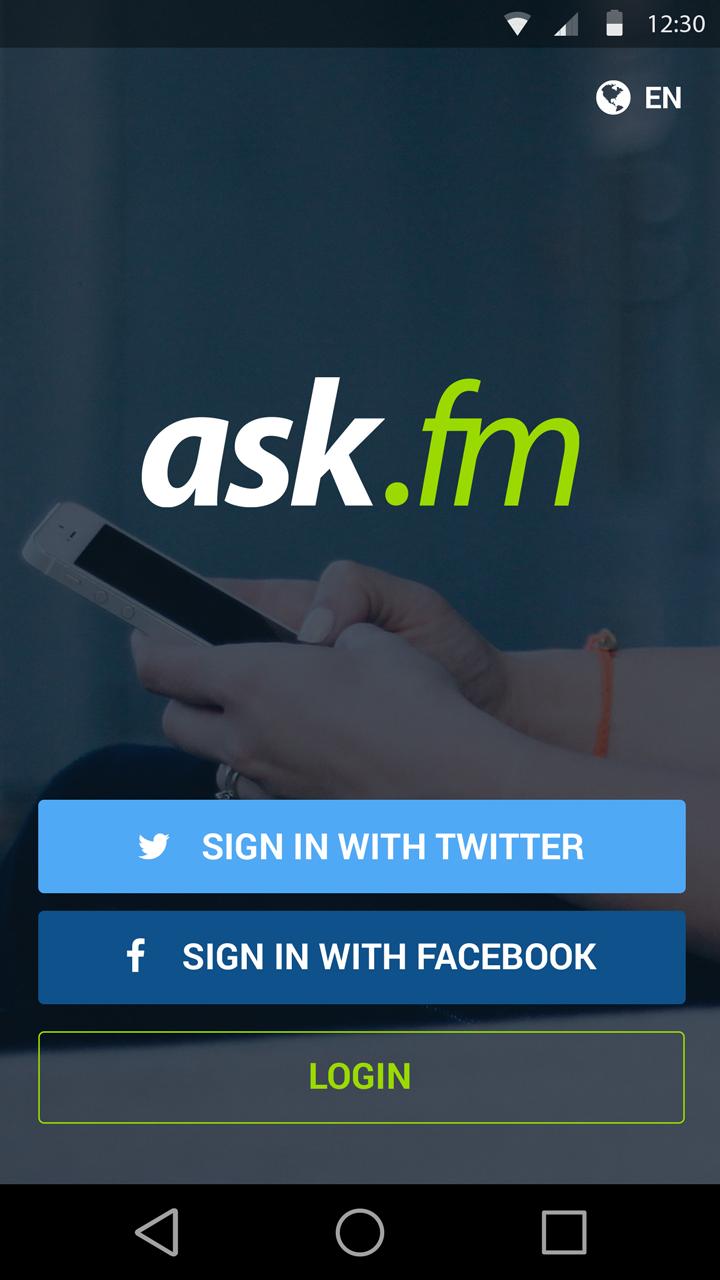 Ask fm login with facebook