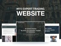 MTE Expert Trading website