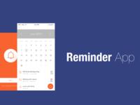 Reminder App Concept