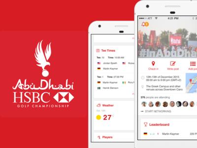 AbuDhabi HSBC Golf Championship