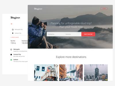 Wayfarer   Route Finder Desktop App