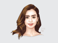Lily on Vexel Illustration