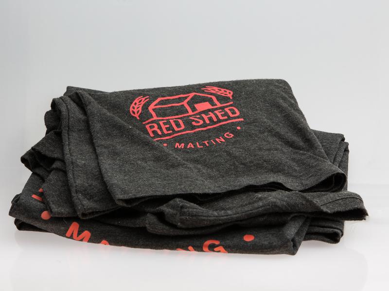 Red Shed Malting Merchandise merchandise design