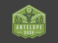 Antelope Dash Hat Label