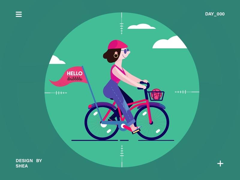 UI 100 day challenge exercise-000 app ui illustration